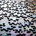 Scattered Jigsaw Puzzles