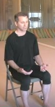 Meditation Technique for Beginners Sitting Position chair