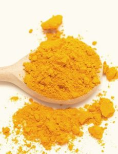 Turmeric is an anti-inflammatory and anti-oxidant, two things that diabetics badly need