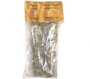 White Sage Smudge Stick Two Pack 9 inch
