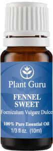Fennel Essential Oil via Amazon