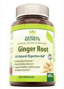 Ginger Root Supplements via Amazon