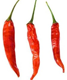 Red Hot Peppers Cayenne