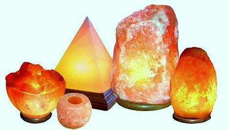Pink Himalayan Salt Lamps Range