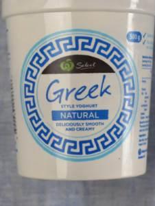 Plain Natural Greek Yogurt