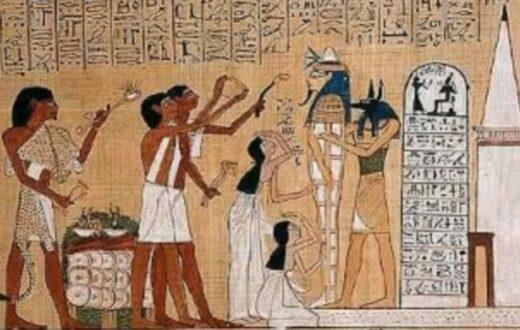 Egypt Mummy preparation