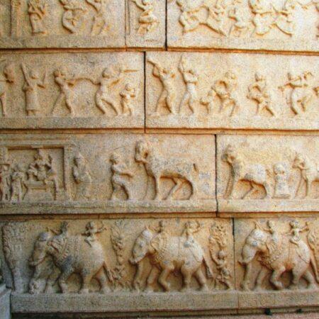 India wall inscriptions