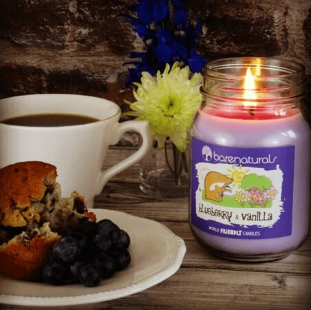 Blueberry and Vanilla Candle