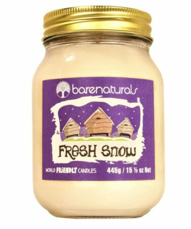 Fresh Snow Scented Candle