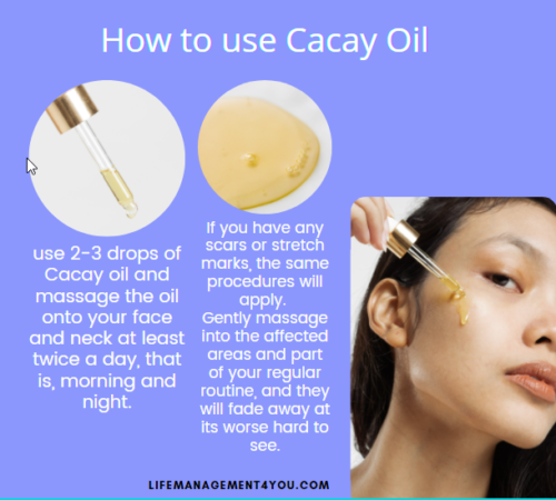 How to use Cacay Oil